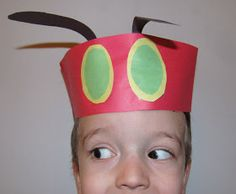 Your little one will love acting out their favorite storybook wearing one of these very hungry caterpillar hats. Be careful to hide away you...