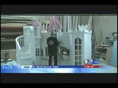 Tanglewood Design - How To Build a Castle  - - - FAST. We had so much fun working with the KUTV 2 News team. See how fast we assembled the Braun Castle