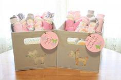 Diaper Babies Tutorial - Littlebitshomemade.com  Cute, fun and practical baby shower gift!