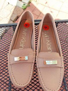 Size 9.5 Talbots Womens Navy Shiny Leather Slip On Loafers Comfort Shoes Comfort Shoes Women's Shoes
