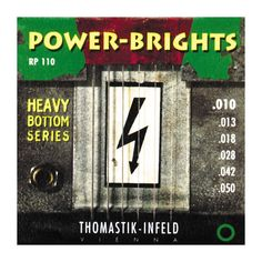Thomastik RP110 Power-Brights Heavy Bottom Medium-Light Electric Guita