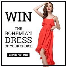Charlotte Anne: Bohemian dress giveaway