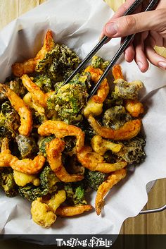 Use an iSi Whip to make the lightest, most delicious tempura.