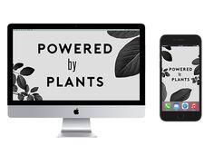 free vegan desktop wallpaper for PCs and macs! free vegan iPhone backgrounds