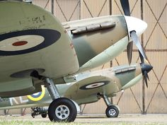 two classic spitfires