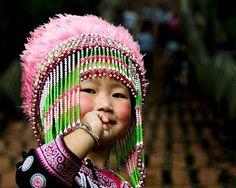 Hill tribe girl. Beautiful