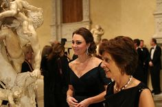 Catherine, Duchess of Cambridge at St. Andrews University Gala at Met Museum in NYC. December 9, 2014.