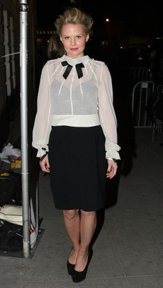 Jennifer Morrison at opening night of All the Way.