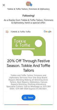 Tokkie & Toffie, 68 Glenwood Road ,Lynwood Glen .Suite 9 . Lynwood Glen, Pretoria (2021)