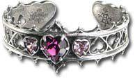 Elizabethan Gothic Bracelet Alchemy of England. $57.00. Swarovski crystal