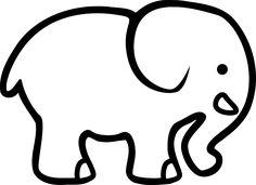 die 19 besten bilder von elefanten   elefanten, elefanten silhouette und elefanten schablone