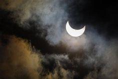 Eclissi parziale di Sole, Seattle (Ap)
