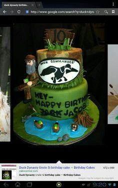 Duck dynasty birthday cake