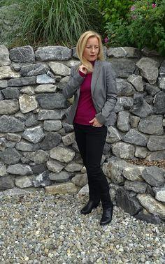 Mit Steingrau und Pink in den Herbst