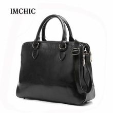 2016 çanta tasarımcısı yüksek kaliteli kadın haberci çanta omuz bölünmüş deri İş belge çanta bolsos mujer toptan(China (Mainland))
