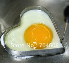 Cook Frie Egg Pancake Stainless Steel Heart Shaper Mould Mold Kitchen Tool vegan -- AliExpress Affiliate's buyable pin. Item can be found  on www.aliexpress.com by clicking the image
