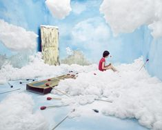 lee-jee-young - she makes amazing sets for fairy tale photography