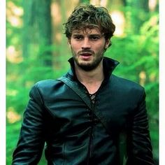 Jamie as the huntsman on Once Upon a Time