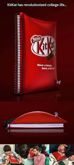 Who wants a Kit Kat now.