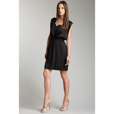 Bcbgeneration Elastic Waist Cocktail Dress
