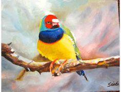 By Chouaid Saidi 14 x 11 Oil on Canvas