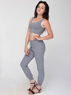 American Apparel - Tri-Blend Leisure Pant $30