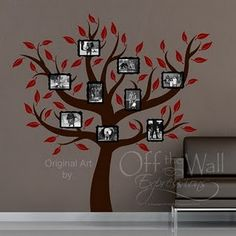 Family Tree painted on wall