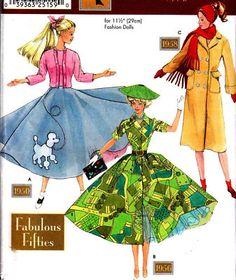 Simplicity Barbie pattern