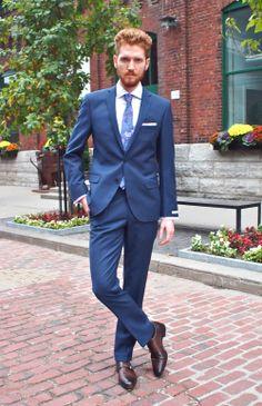 Without Prejudice Kilburn Pinstripe Wool Suit: $895