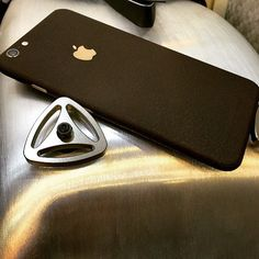 Only Wrap your iPhone 6 with the Best!  Slickwraps Brown Leather  Huge thanks @hkoanmg