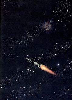 sciencefictiongallery:    Frank Kelly Freas   - Hero, 1972.