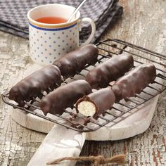 tvarohová tyčinka v čokoláde