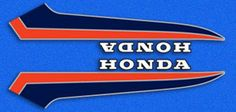 Decals for 1977-80 Honda moped & small street bike