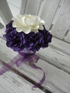 Paper Flower Centerpiece Paper Flower Arrangement Peony Carnation