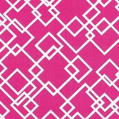 Dear Stella House Designer - Meet Me at Sunset - Gridlock in Pink