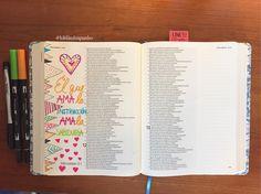 """""""El que ama la instrucción ama la sabiduría..."""" Proverbios 12:1 #RVR1960 #bibliadeapuntes . . . . . . En esta ilustración usamos lápiz, borrador, marcadores #tombowdualbrushpens y bolígrafo #sharpiepen. No tienes que usar estas marcas. Asegúrate que los marcadores que uses la tinta sea con base de agua o se le puede llamar tinta de archive, que no sean tóxicos y sin olor. Por lo común este tipo de tinta no se corre al momento de usarlos.  #Biblia #biblejournalingenespañol #biblejourn Scripture Doodle, Bible Art, Bible Verses, Bible Doodling, Lyric Quotes, Gods Love, Gratitude, Journaling, Prayers"""