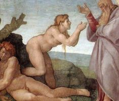 Check out 16 of Michelangelo Most Famous Paintings. One of the prominent artist of the Italian Renaissance. A Renaissance painter, sculptor, and architect renowned worldwide as one of the greatest artists of all time. High Renaissance, Renaissance Artists, Michelangelo Paintings, Pope Paul Iii, Sistine Chapel Ceiling, Religion, Alone In The Dark, Most Famous Paintings, Adam And Eve