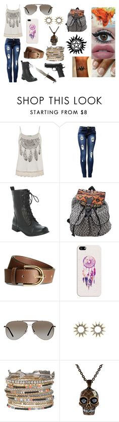 """""""supernatural oc #2"""" by xautumnxrainx ❤ liked on Polyvore featuring maurices, H&M, Casetify, Tom Ford, Alexander McQueen and Caliber"""