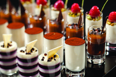 The assorted desserts, pastries, crepes, cookies and unlimited gelato are a big reason Las Vegas visitors come back for more at Bacchanal Buffet.