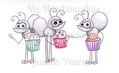 Cupcake Ants