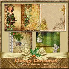 Welkom bij Creative Scrapmom: Vintage Christmas