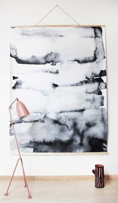 Wall hanging canvas | Nynne Rosenvinge