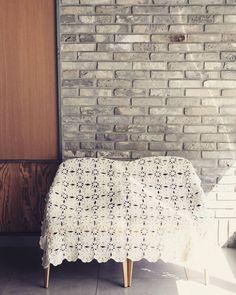 It's done!  끝났다 #모티브 #모티브블랭킷 #뜨개블랭킷 #뜨리꼬떼 #뜨리1기 #개꽃블랭킷 #crochetblanket #crochetstagram #motifblanket #motif #crochet by limpid_water