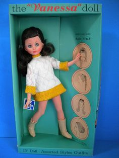 The Vanessa Doll - US Corinne - Italocremona 1965