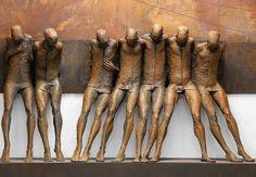 Tu recepcja - Sculptures - Max Leiva