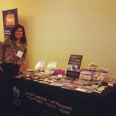 #iSpyAPI Buenos Aires Resident Director Carmen at the #nafsaregionxi conference! #studyabroad