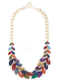 Berry Statement Necklace