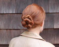 DIY Wedding Hair : DIY twisted bun