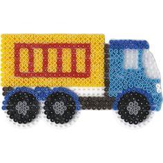 hama beads designs | Truck Hama Pegboard - Hama Beads from Crafty Crocodiles UK