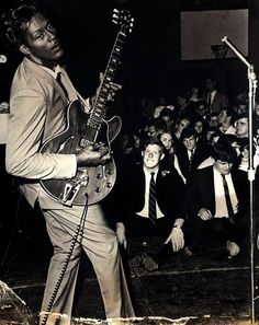 Chuck Berry shows off the new sound - Imgur